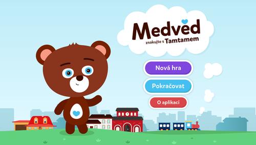 Aplikace Medvěd - Znakujte s Tamtamem